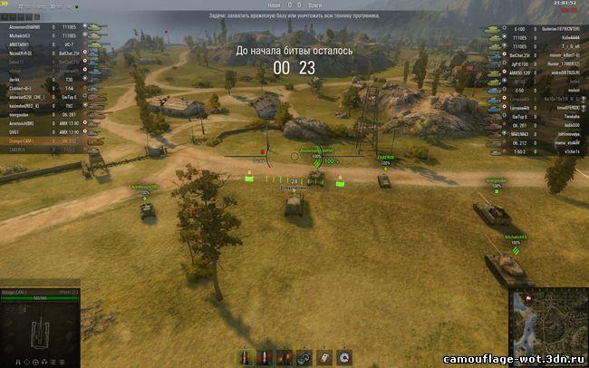 Снайперский, Аркадный, САУ прицел