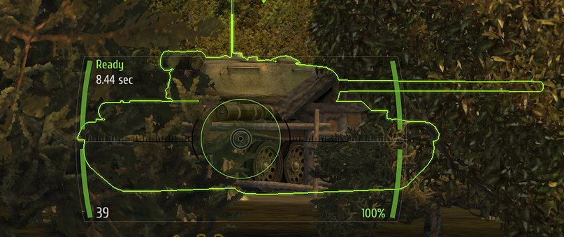 Прицел для WoT (0.7.2) (Аркадный, снайперский, артиллерийский 3в1)